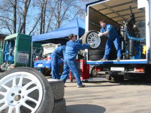 Бизнес идея: шиномонтаж на колёсах