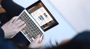 В Китае выпустили самый маленький ноутбук в мире