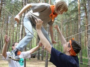 Экстремальные тренинги по тимбилдингу