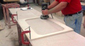 Изготовление и установка столешниц из искусственного камня для кухни и ванной на заказ: технология, бизнес план, какое купить оборудование