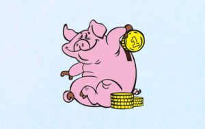 Короткие шуточные предсказания на Новый 2021 год свиньи
