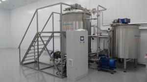 Производство жидкого мыла