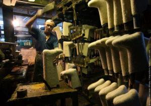Производство валенок