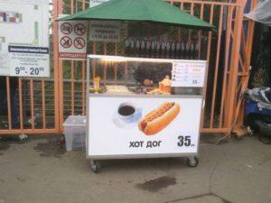 Продажа хот-догов как бизнес