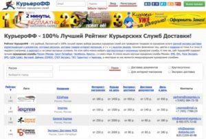 Курьерские службы для интернет-магазинов: рейтинги лучших в России