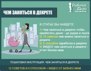 Чем можно заняться дома, чтобы заработать деньги: практические советы