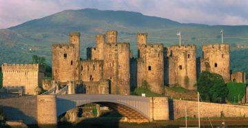 Замок Конуи, Уэльс, Великобритания