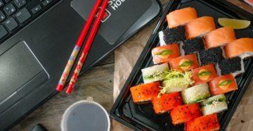 Как открыть службу доставки суши