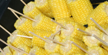 Продажа вареной кукурузы